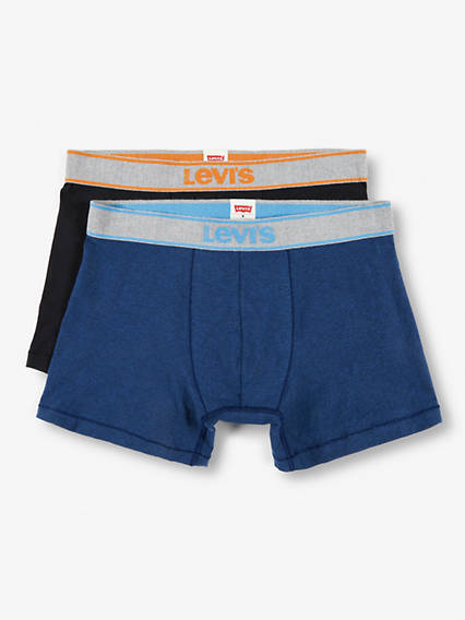 Levis  Snow Heather Boxer Brief 2 Pack