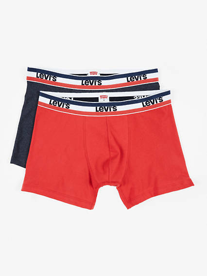 Levis 200Sf Sprtswr Logo Color Boxer Brief 2 Packs