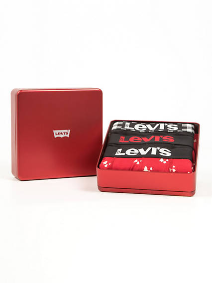 Levis  Giftbox Christmas Boxer Brief 3 Pack