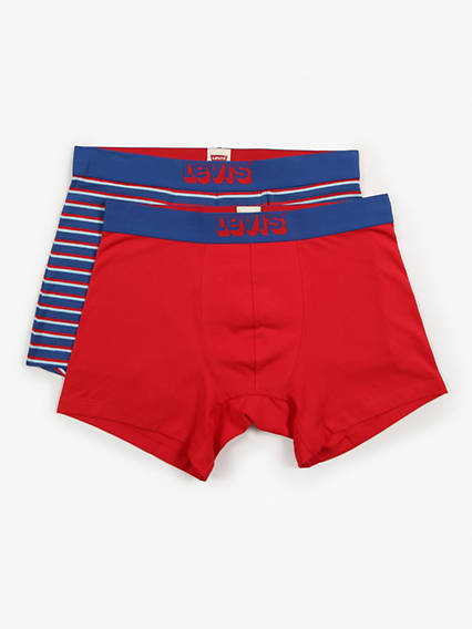 Levis 200Sf Triple Vintage Stripe Boxer Brief 2 Pack