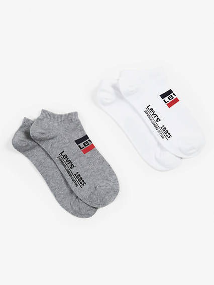 Levis 168Sf Low Cut Sprtswr Logo 2 Pack
