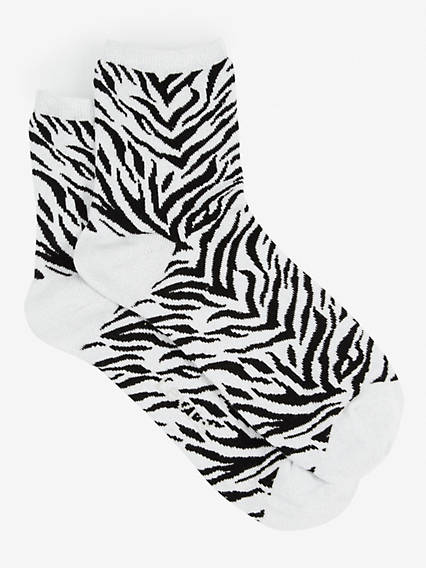 Levi's® Women Short Sock Lurex Zebra 1-Pack