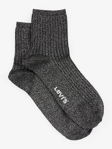 Levis Women Short Sock Lurex Sport 1-Pack