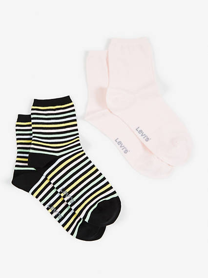 Levis Women Sock Multi Pastel 2P