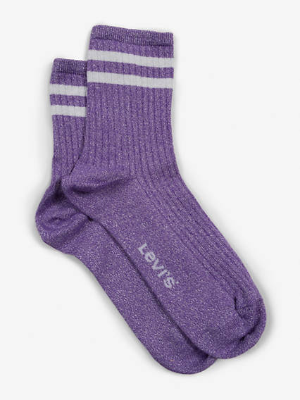Levis Women Short Sock Lurex Sport 1 Pack