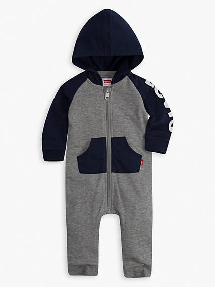 Baby 0-12M Knit Coverall