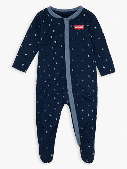Baby 0-12M Long Sleeve Footie