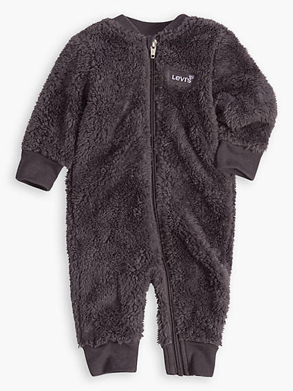 Baby 0-12M Sherpa Coverall