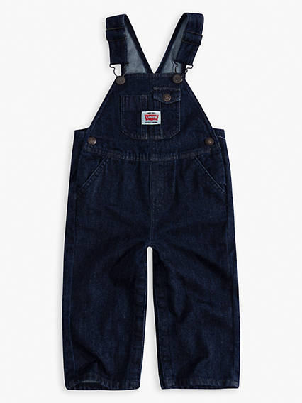 Toddler Boys Denim Shortalls