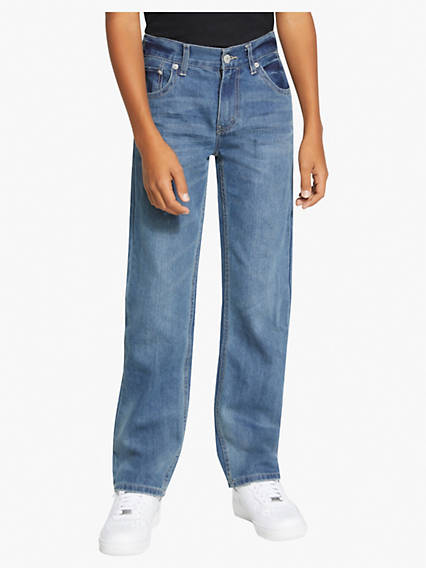 505 Regular Fit Big Boys Jeans (Husky) 8-20