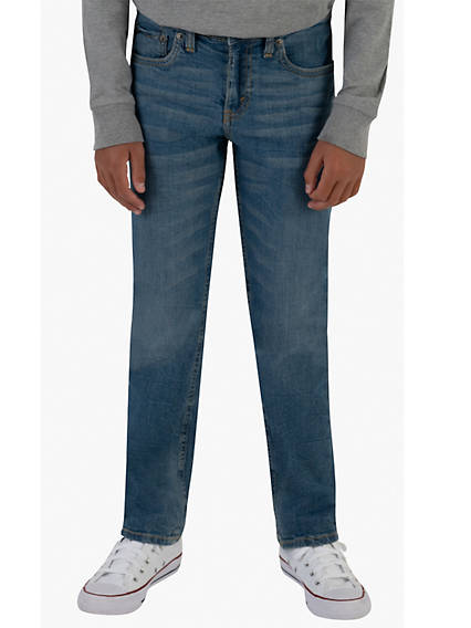 502 Taper Fit Big Boys Jeans (Husky) 8-20