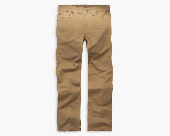 cb7c3ba1e621c Big Boys 8-20 511™ Slim Fit Brushed Sueded Pants - Khaki | Levi's® US