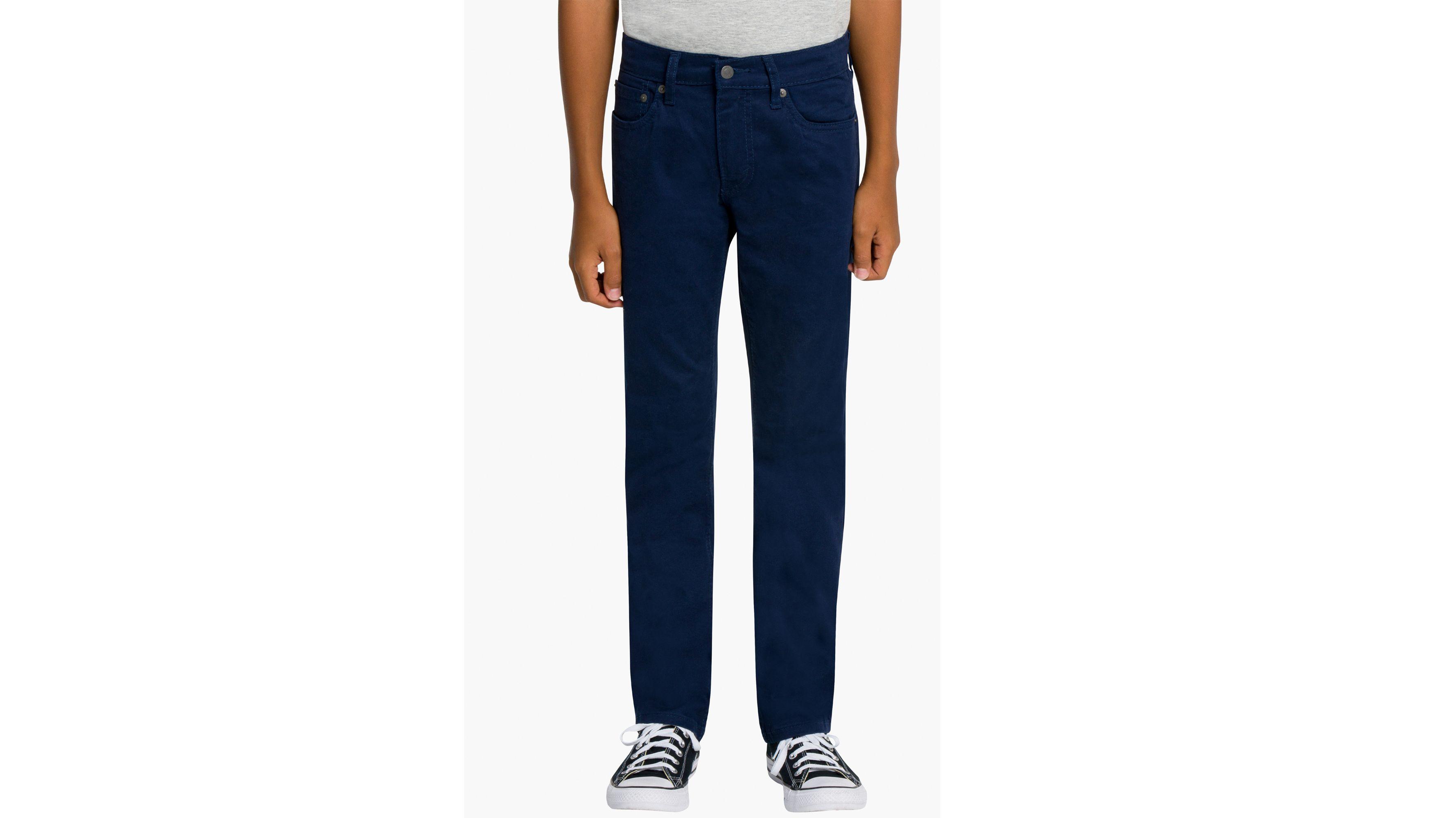 Big Boys 8-20 511™ Slim Fit Brushed Sueded Pants
