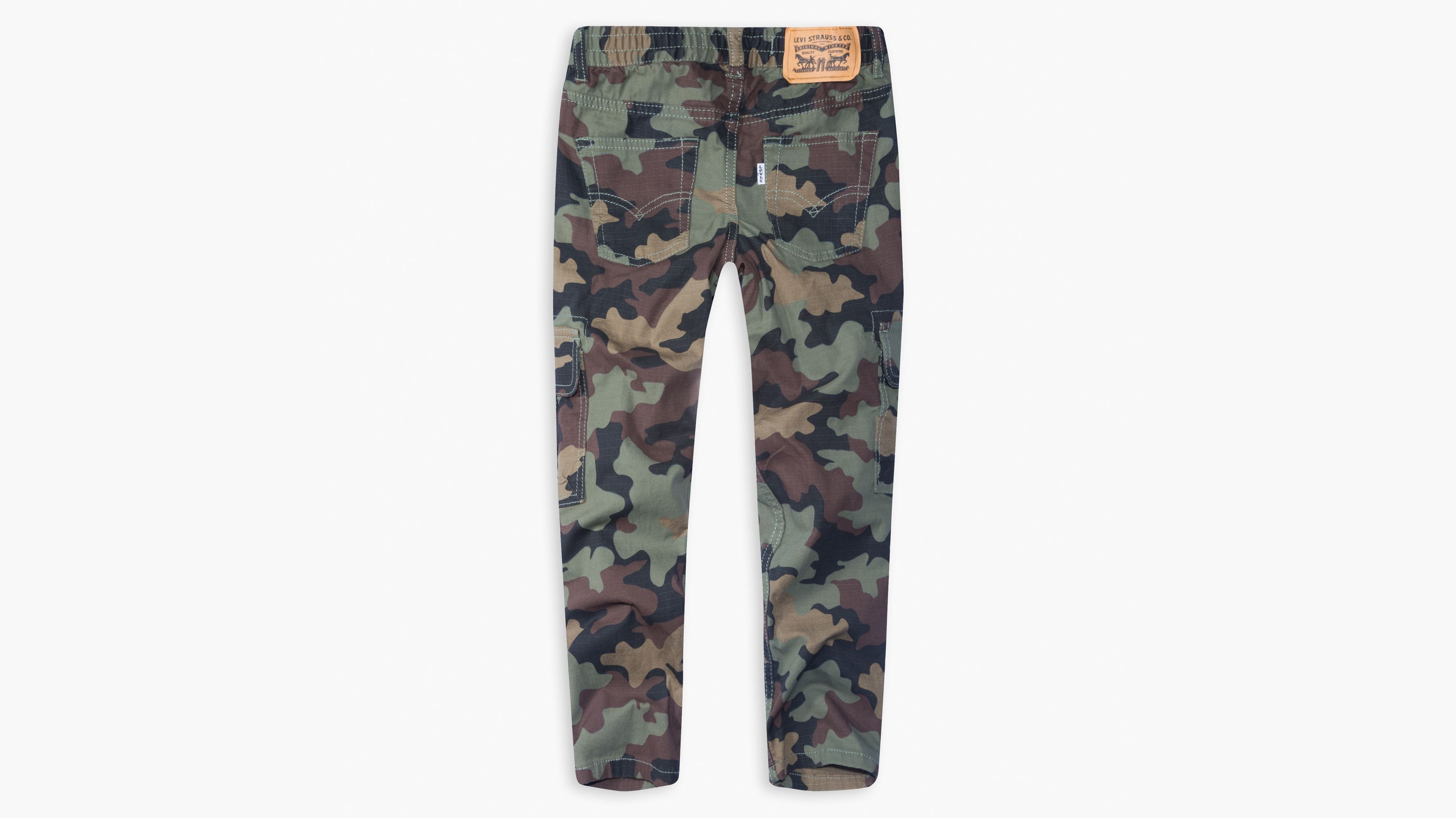 767fb1159 Big Boys 8-20 Stretch Taper Cargo Pants - Green | Levi's® US