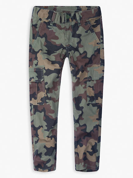 Boys 8-20 Stretch Taper Cargo Pants