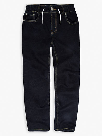 Boys 8-20 Denim Drawstring Joggers