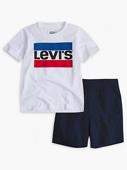 6fb15ffa Baby Clothes - Onesies & 2-3 Piece Sets for 6-24 Months | Levi's® US