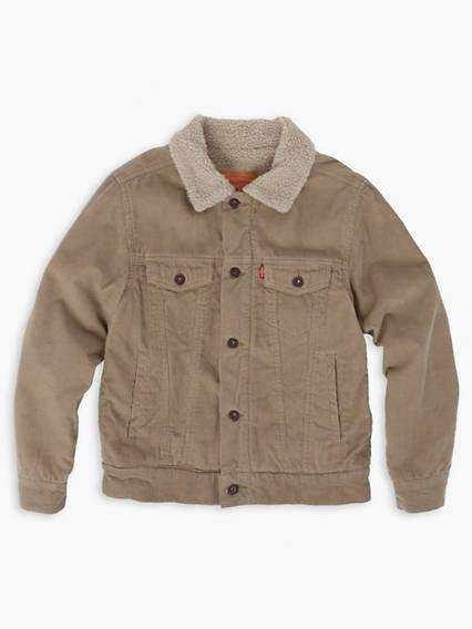 Boys 8-20 Sherpa Trucker Jacket