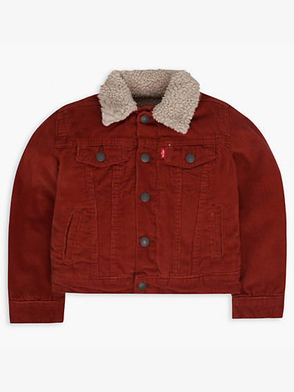 Toddler Boys 2T-4T Sherpa Lined Trucker