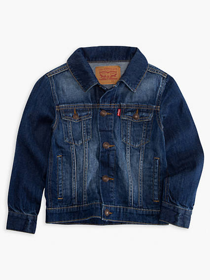 Little Boys Denim Trucker Jacket