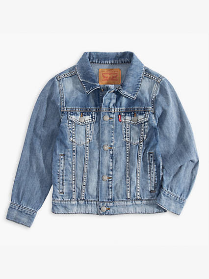 Toddler Boys Denim Trucker Jacket