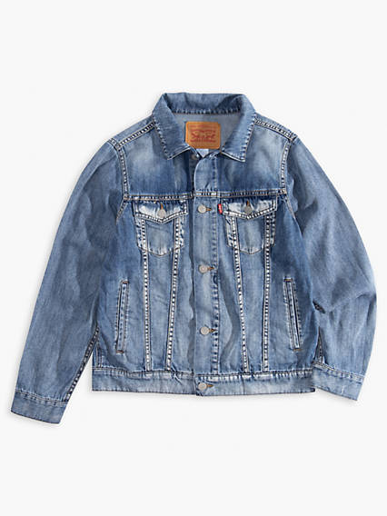 Big Boys Denim Trucker Jacket
