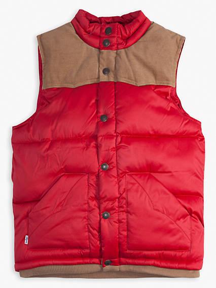 Boys 8-20 Lightweight Puffer Vest