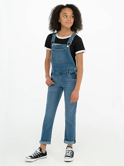 Girls 7-16 Girlfriend Overalls