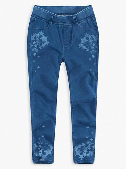 Little Girls 4-6x Haley May Knit Leggings