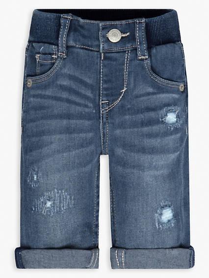 Baby 0-12M Rib Skinny Jeans