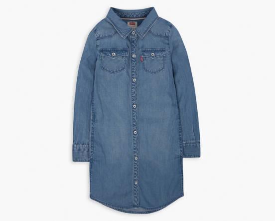 59a07e8d3 Toddler Girls 2t-4t Western Dress - Medium Wash | Levi's® US