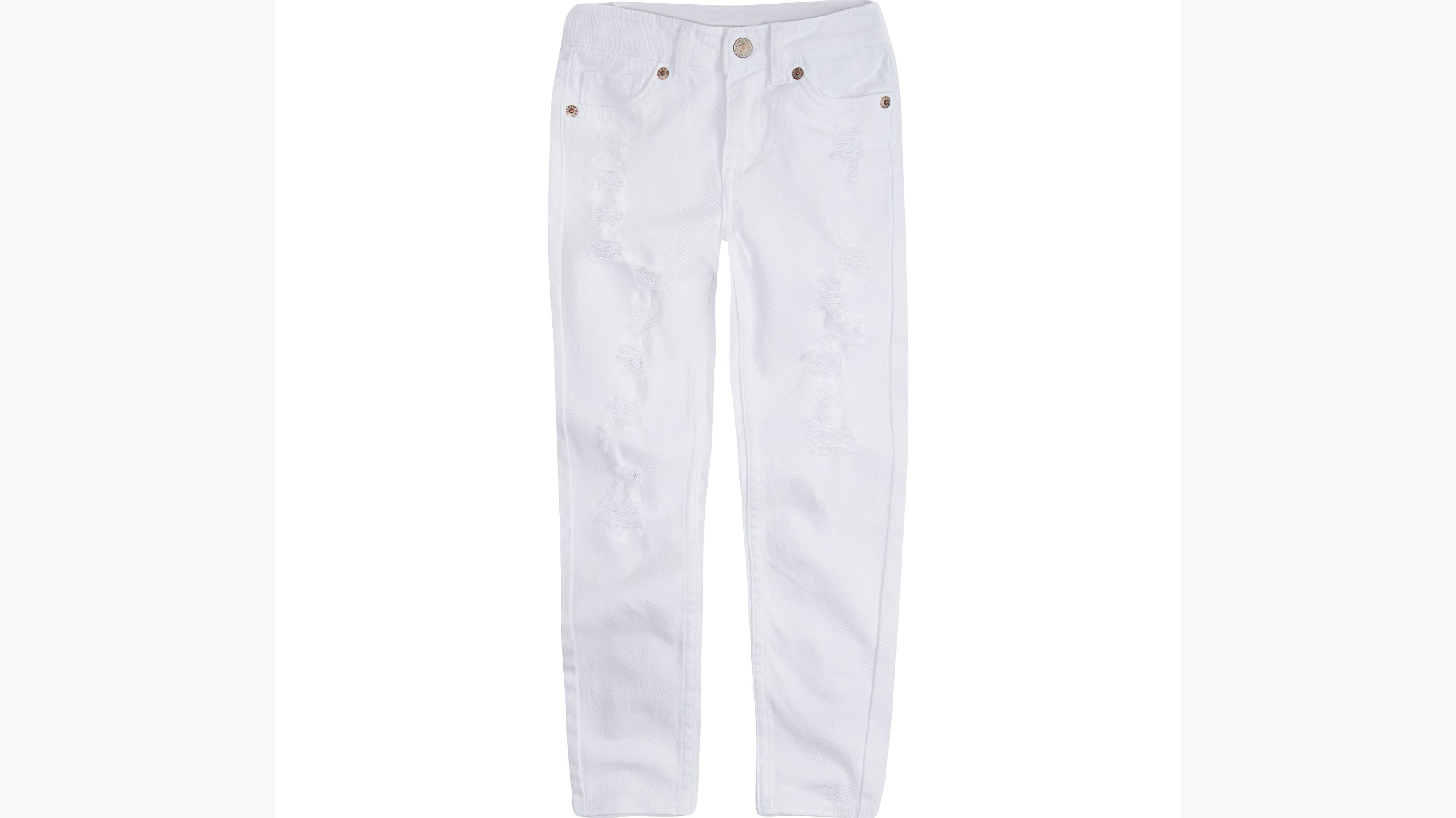 Little Girls 4-6x 710 Super Skinny Color Jeans