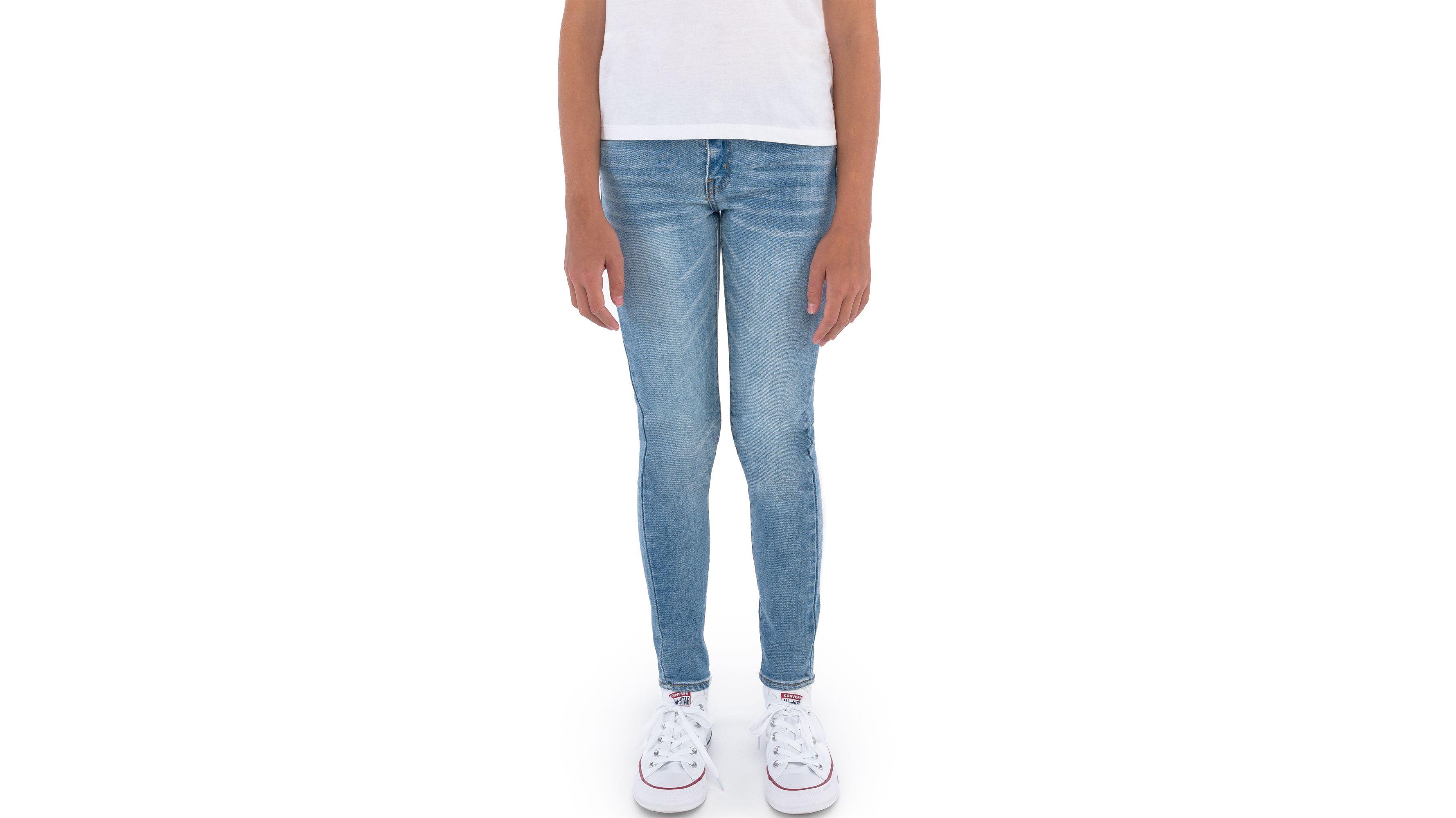 Big Girls 7-16 710 Super Skinny Color Jeans