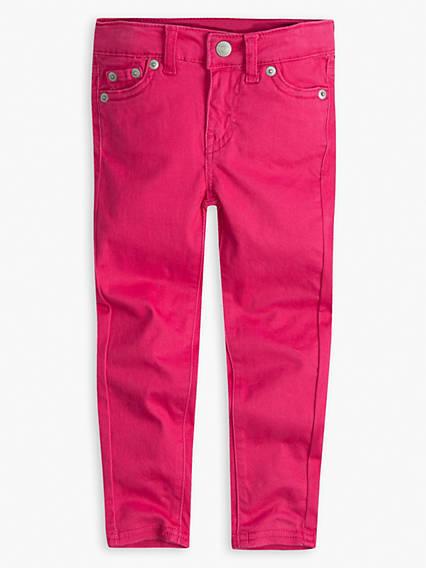 Toddler Girls 2T-4T 710 Super Skinny Jet Set Jeans