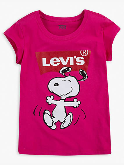 Big Girls Levi's® x Peanuts Tee Shirt