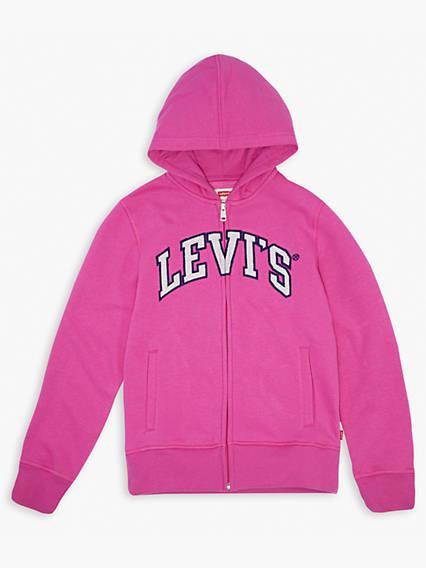 Girls 7-16 Levi's® Logo Hoodie