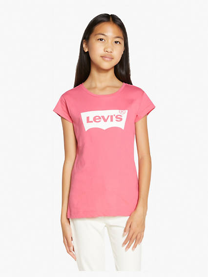 Big Girls Levi's® Logo Tee Shirt