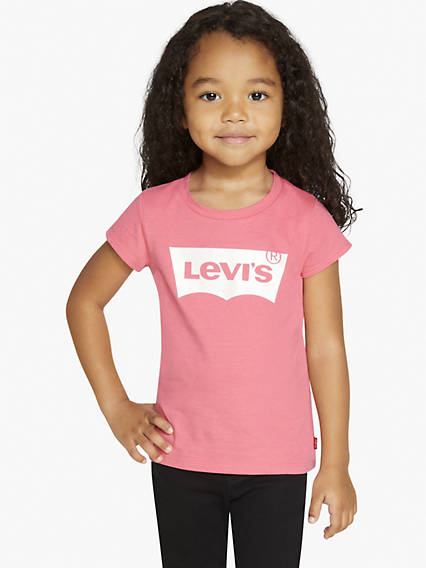 Toddler Girls 2T-4T Levi's® Logo Tee Shirt