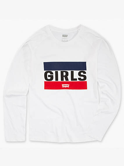 Girls 7-16 Graphic Knit Top