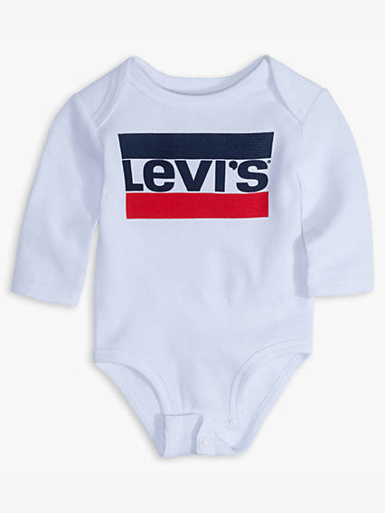 Baby 0-12M Graphic Long Sleeve Bodysuit