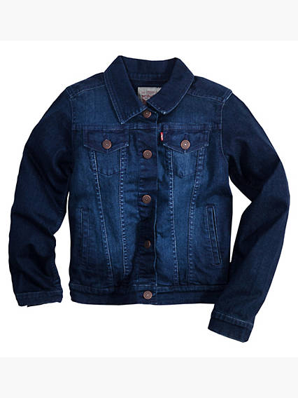 Girls 7-16 Trucker Jacket