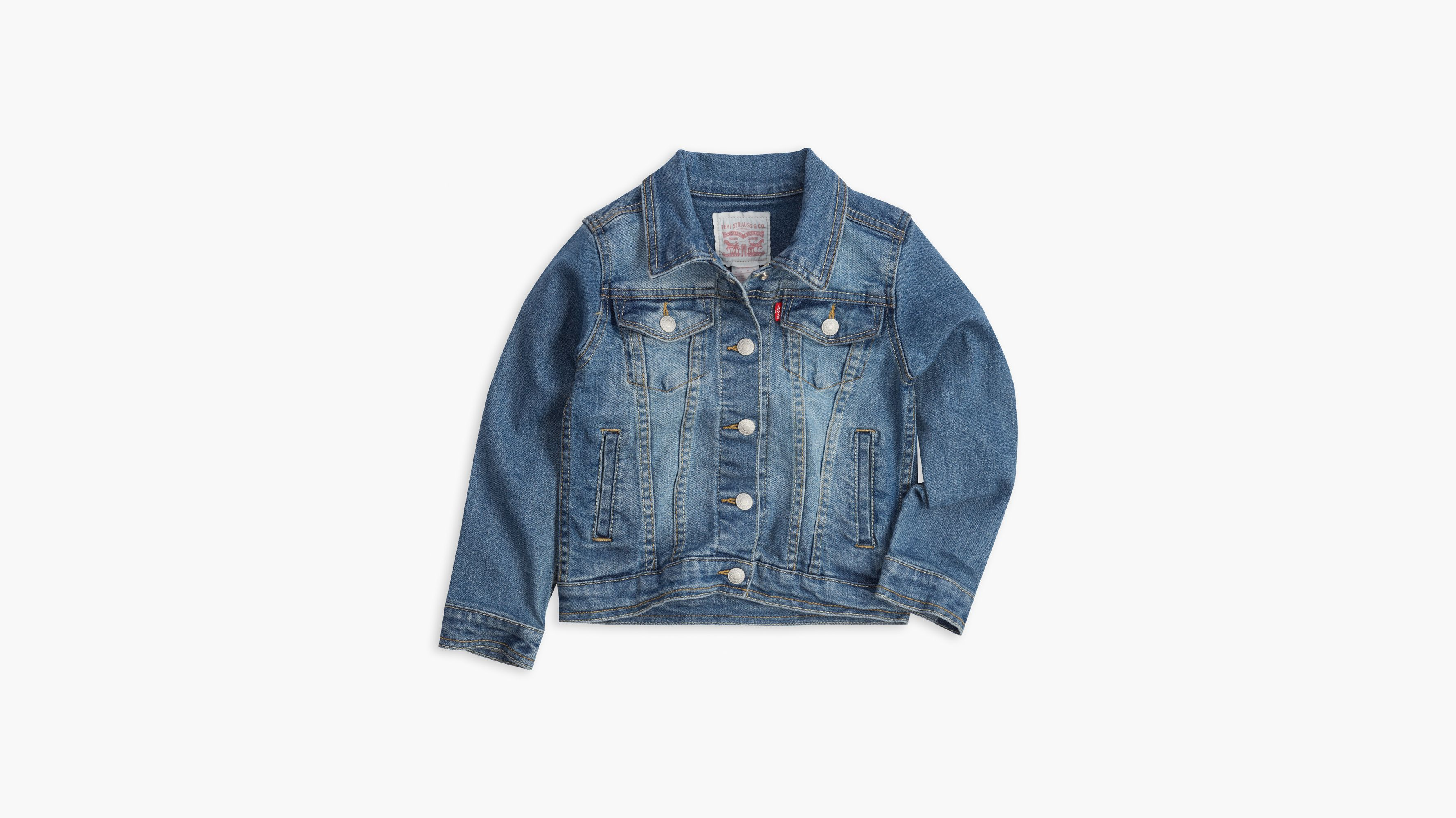 Jean Truckers Girls' JacketsVestsamp; OuterwearLevi's® Us Ye29EbWDIH