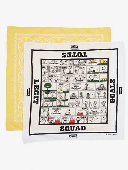 Levi's® X Peanuts Goals Bandana 2 Pack