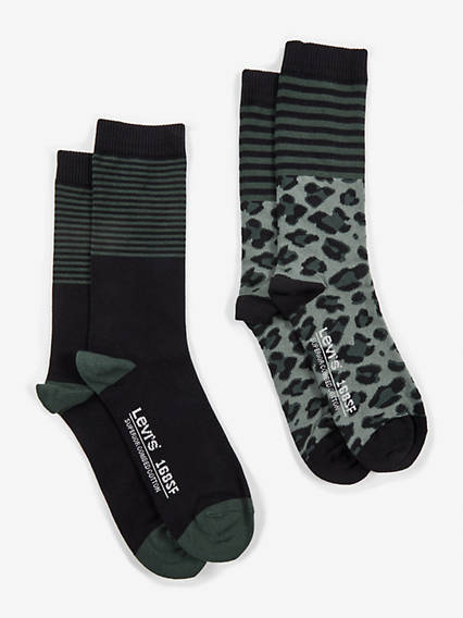 Levis  Regular Cut Leopard Stripe 2 Pack