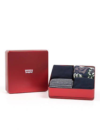 Levis  Giftbox Regular Cut 4 Pack