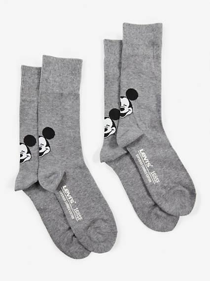 Levis  Regular Cut Mickey 2 Pack