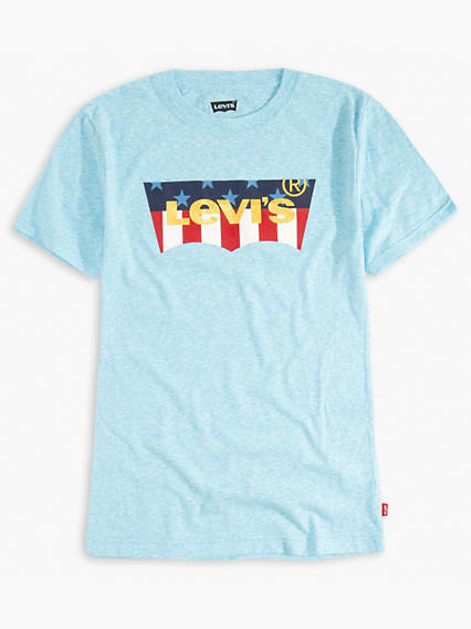 Big Boys Levi's® Pattern Logo Tee Shirt