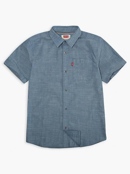 Big Boys Smith Shorts Sleeve Shirt