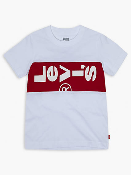 Toddler Boys Lazy Tab Tee Shirt