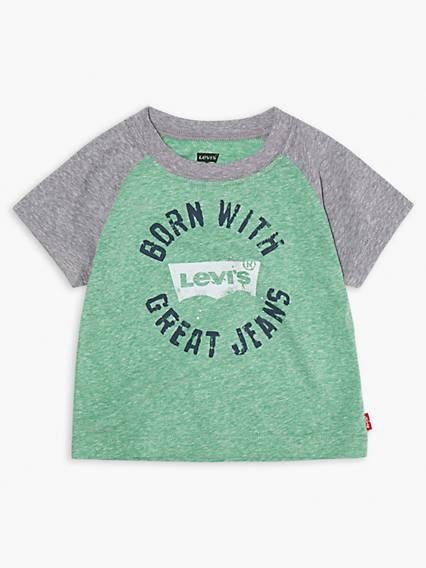 Baby Raglan Levi's® Logo Tee Shirt